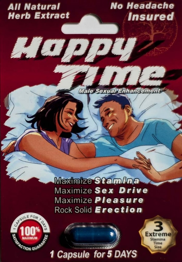 Happy Time Male Enhancement Pill