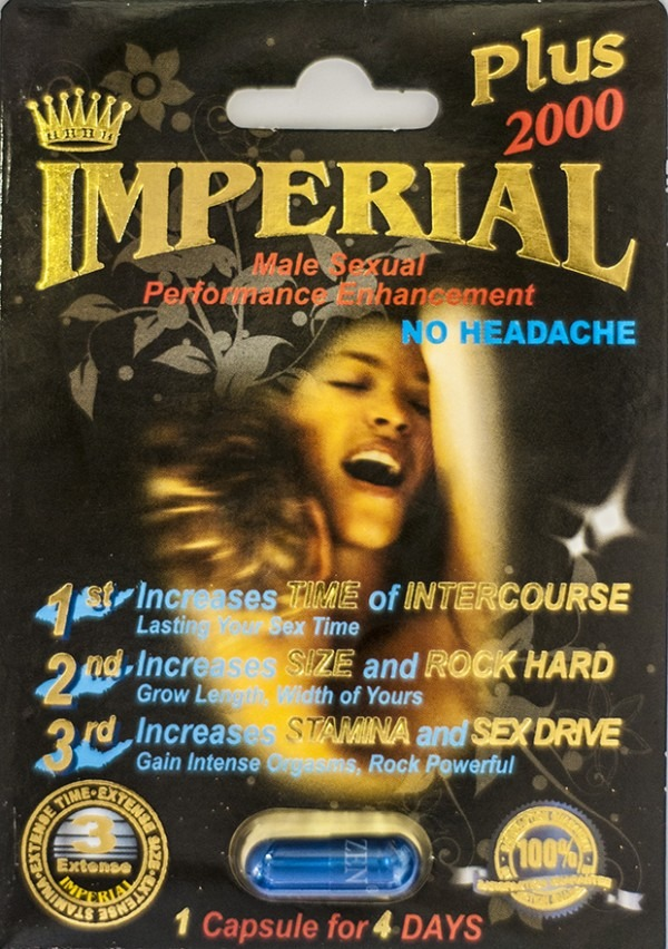 Imperial Plus 2000 Male Sexual Enhancement Pill