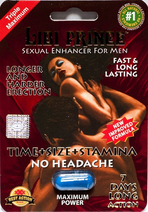 Libi Prince 2500pwr 4 Days Sexual Enhancer for Men 1 Pill