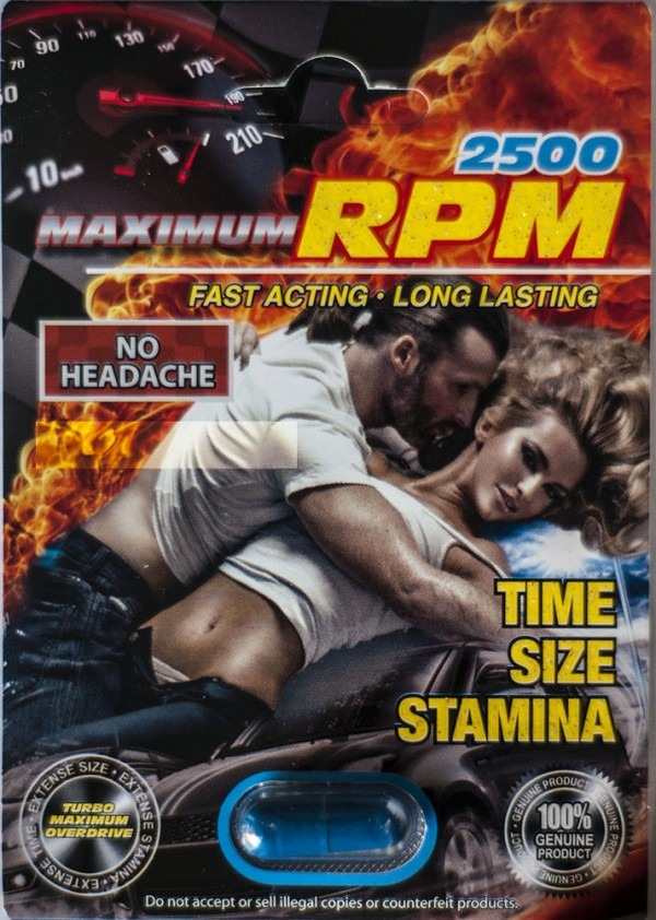 Maximum PRM 2500 Male Enhancement Pill
