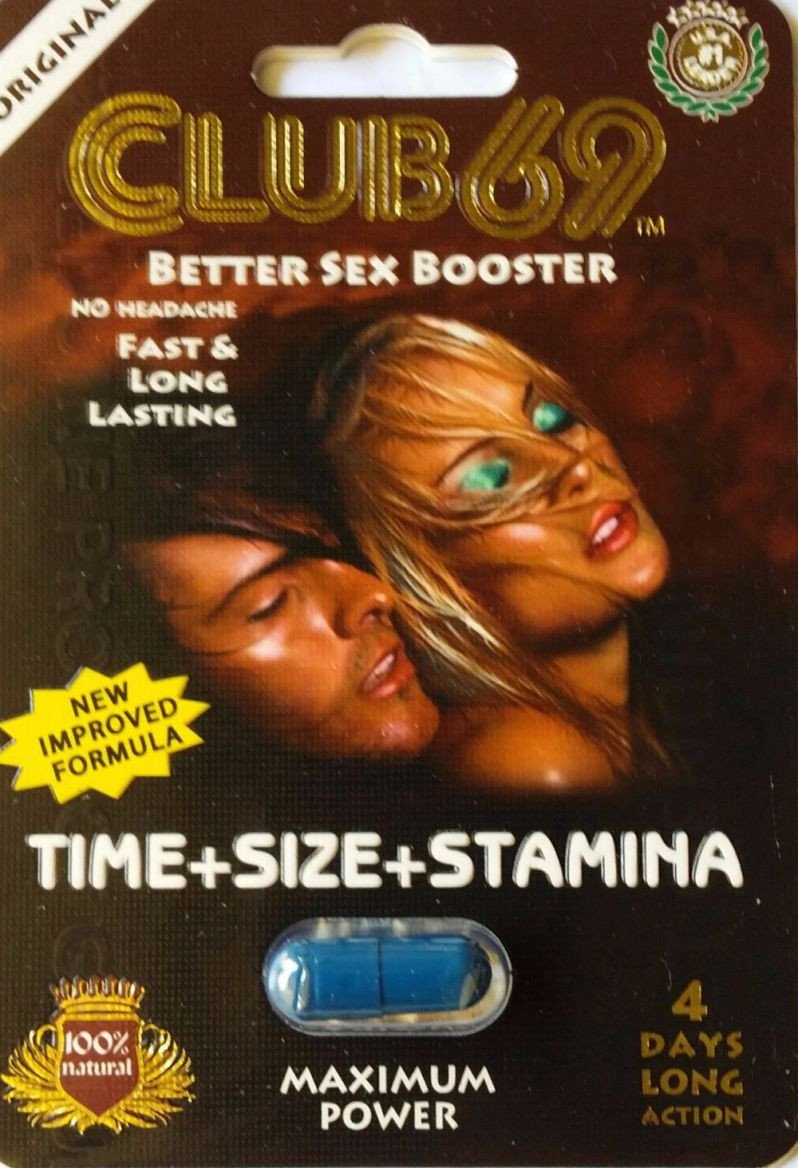 Club 69 Better Sex Booster 1250mg 4 Days Long Action Pill for Men