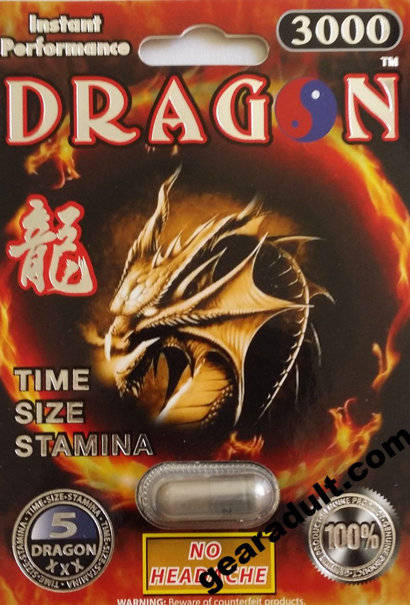 Dragon 2000 Platinum Male Enhancement Pill