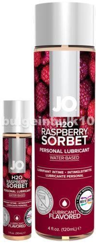 Jo H2O Raspberry Sorbet Lubricant 1 fl.oz/ 30ml Travel Size