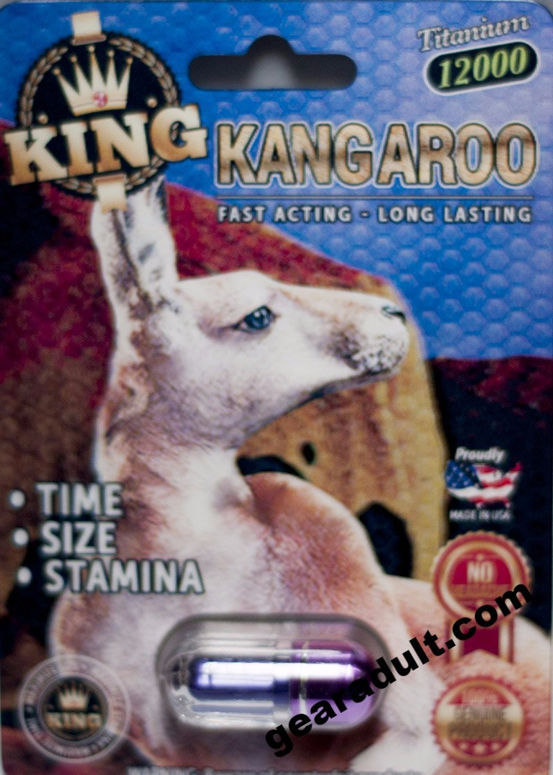 King Kangaroo 12000 Titanium Male Enhancement Purple Pill