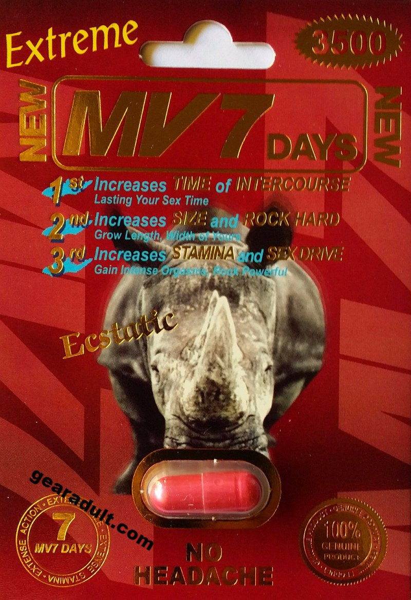 MV7 Days 3500mg Extreme Male Sexual Enhancement Pill Genuine MV 7