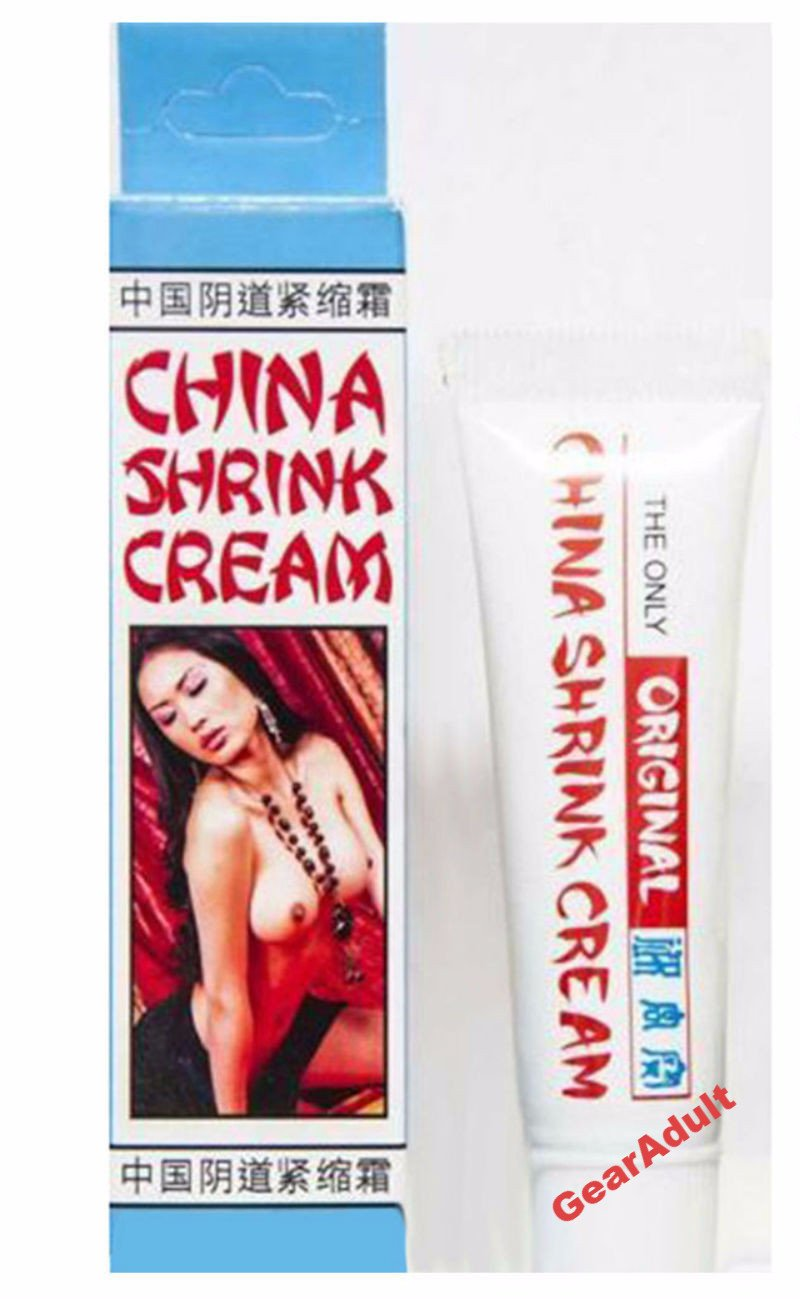 Original China Shrink Cream Vaginal Anus Tightening NassToys 0.5 Oz