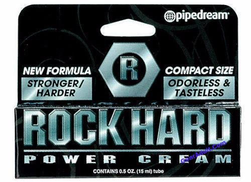 ROCK HARD POWER CREAM .5oz - Male Delay Cream Enhancement Enhancer