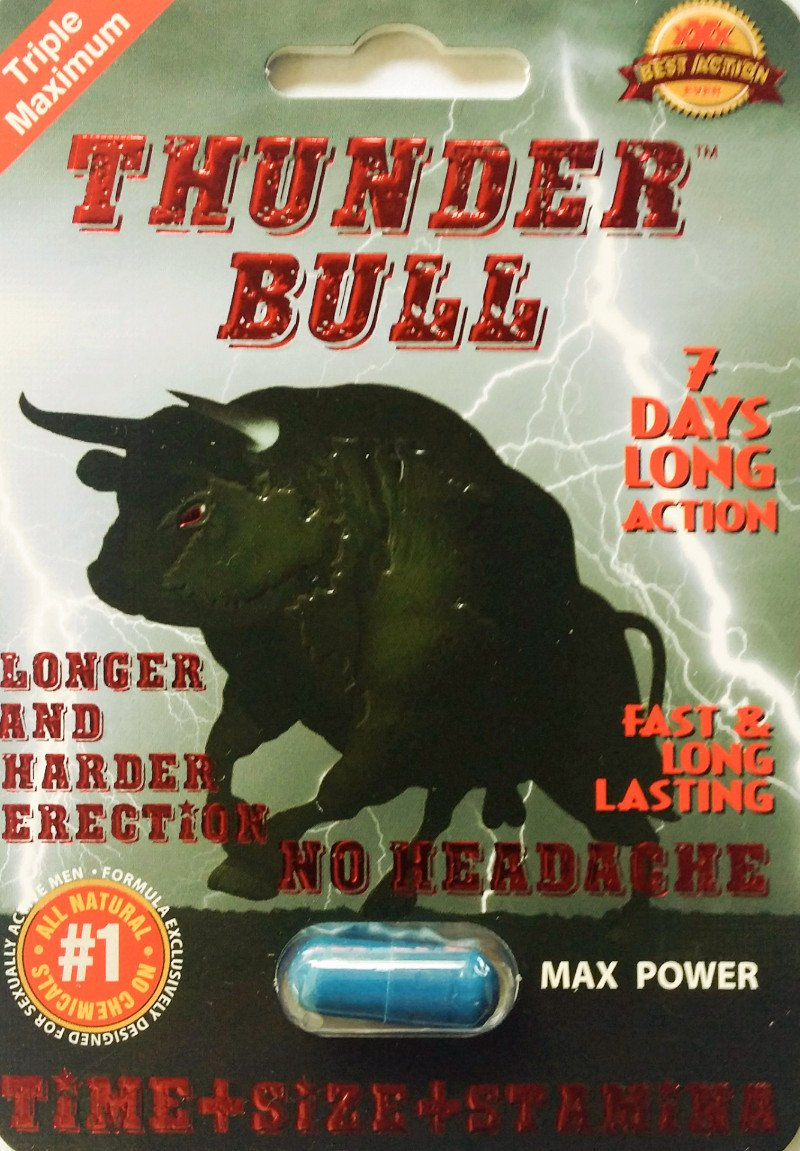Thunder Bull Triple Maximum Max Power Enhancement Pill for Men
