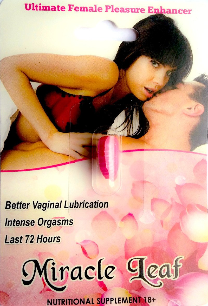 Women Orgasm Miracle Leaf Vaginal Lubrication For Her 72 Hours