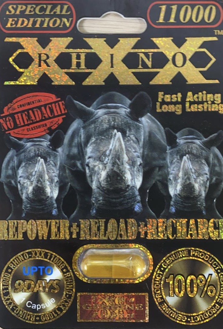 Rhino XXX 10000 Pill Male Enhancement