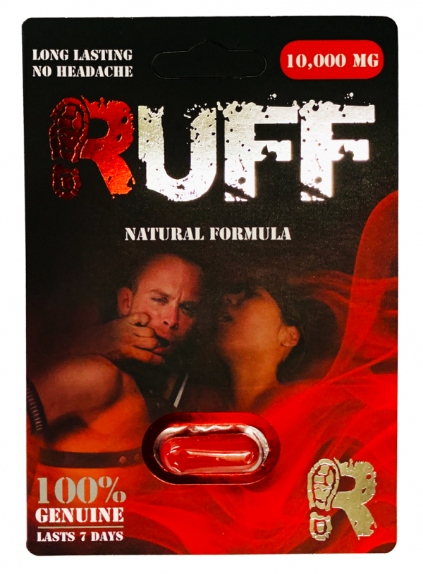 Ruff 10000mg Natural Formula Male Enhancement Pill