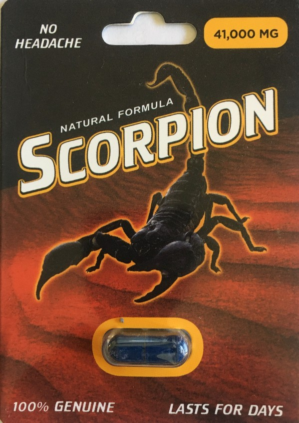 Scorpion 41000mg Male Enhancement Pill