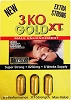 3 KO Gold XT 2500 mg Male Sexual Enhancer Pack of 3 Pills