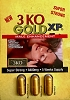 3KO Gold XP 2800 mg Male Enhancement Each Pack of 3 Pills