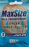 MaxSize Male Enhancement 2 Fast-Acting Caplet