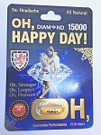 Oh Happy Day 15000 Men Natural Libido Enhancer Pill