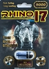 Rhino 17 5000 Black Enhancement Pill For Men