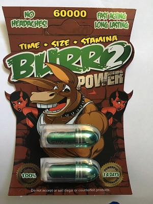Burro 2 Power 60000 Male Sexual Enhancer Pill