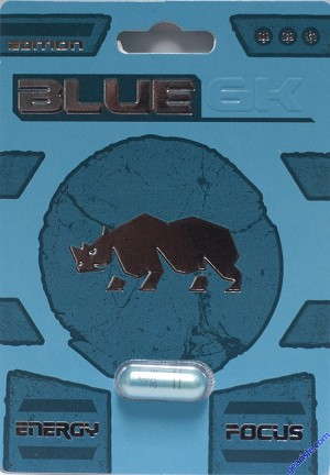 Blue 6K Male Enhancement Pill