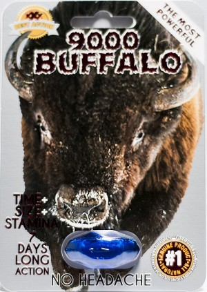 Buffalo 9000 Men Enhancement Pill