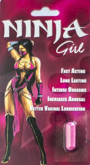 Ninja Girl Women Arousal Pill