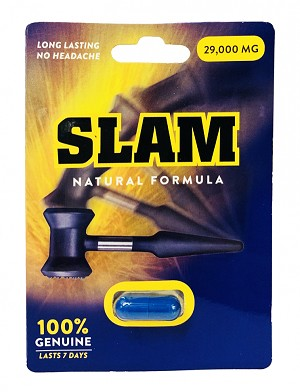 Slam 29000mg Natural Formula Male Enhancement Pill